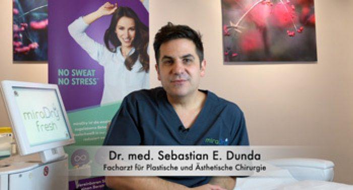 Dr Sebastian Dunda - Facharzt Sweatclinic